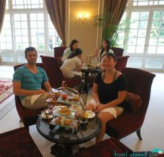 Cool and relaxed in the Tea Lounge