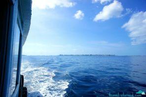 Resorts on the way to Maafushi