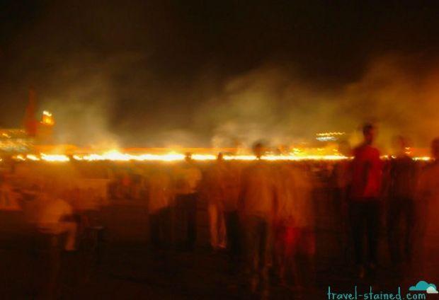 Eerie  Jemaa El Fna Square