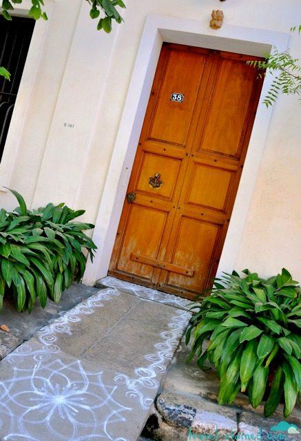 A magical door