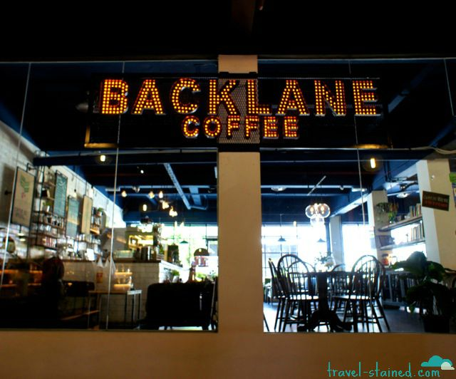 Backlane Coffee in Melaka