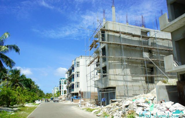 Never-ending construction on Hulhumale