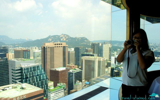 Seoul from high above