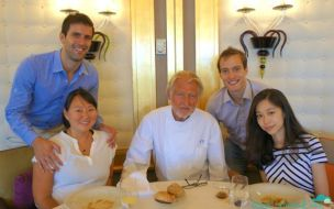 Hanging with Pierre Gagnaire