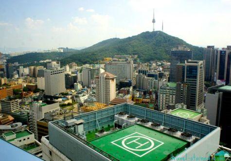 Namsan and Seoul Tower