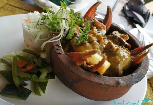 Seafood curry on Zanzibar