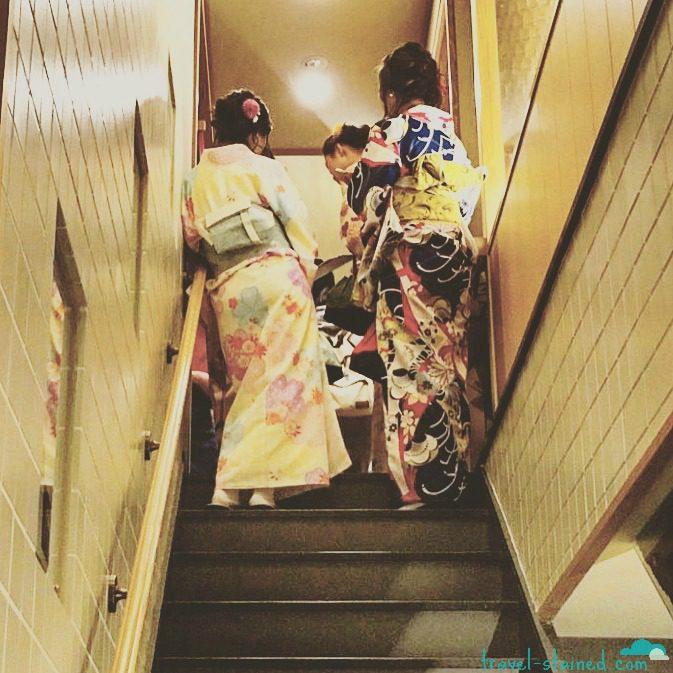 Not real geishas...