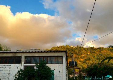 Pretty clouds in Kalamitsi