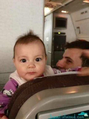 I can see the whole plane from here mommy!