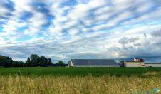 Pretty skies en-route to Lampertheim