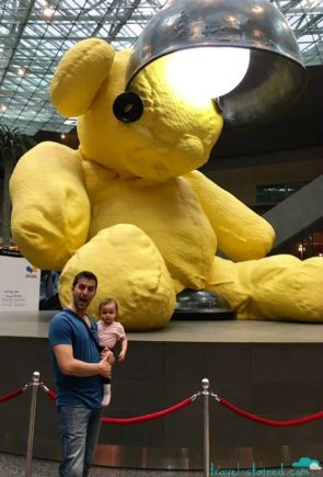 Giant bears in Doha