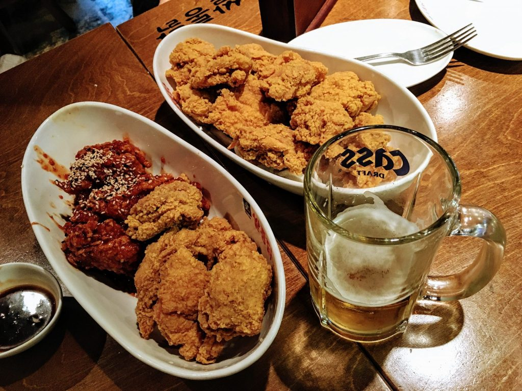 ssaltong chicken jamsilsaenae