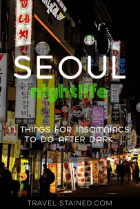 Seoul at Night - Pinterest
