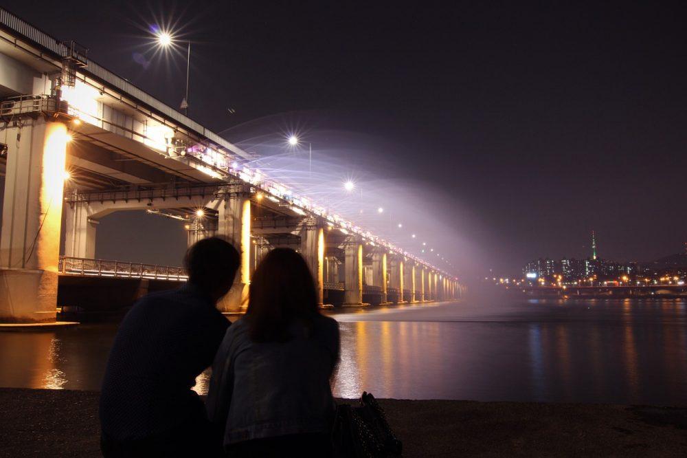 Banpo Bridge, banpo hangang park seoul