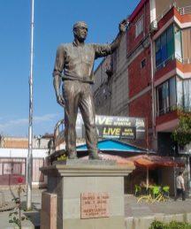 George W. Bush statue in Fushe Kruje Albania