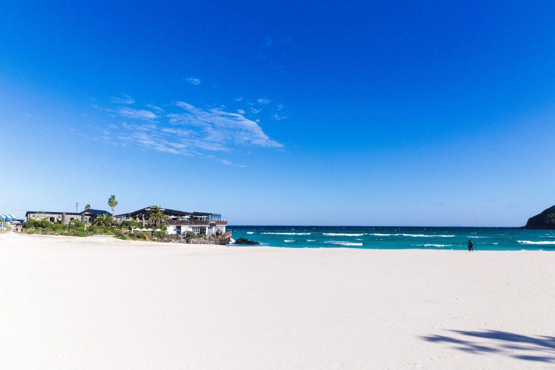 hamdeok beach jeju