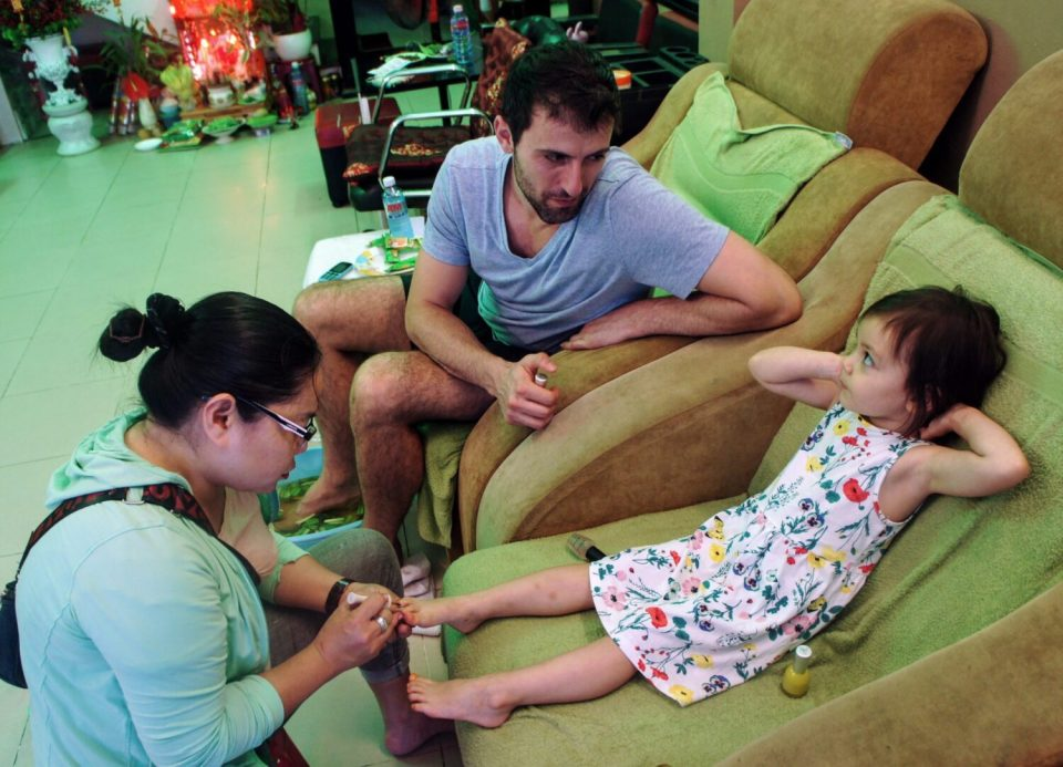 things to do in hoi an: pedicures and massages