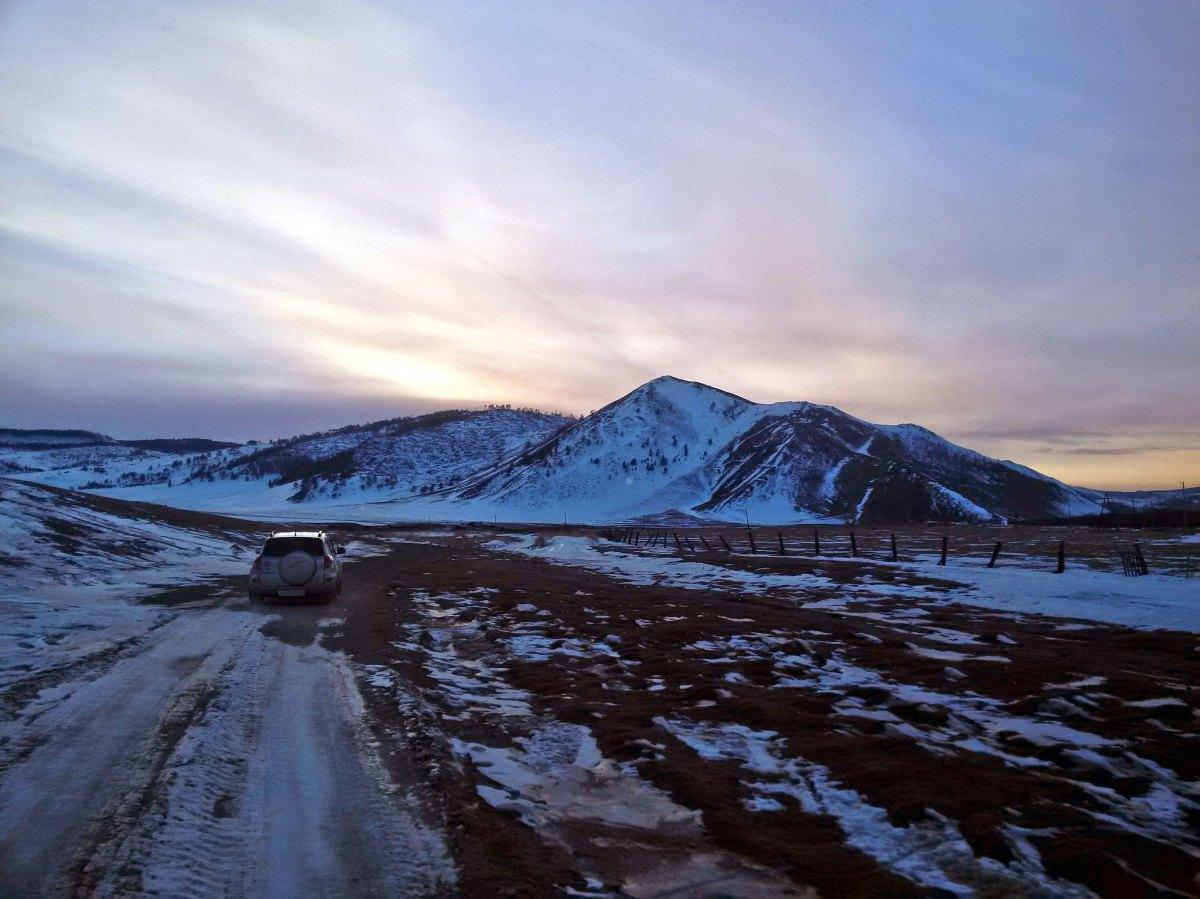 Фототур на Байкал: Дорога к Байкалу (вблизи Ехе Ёрд)