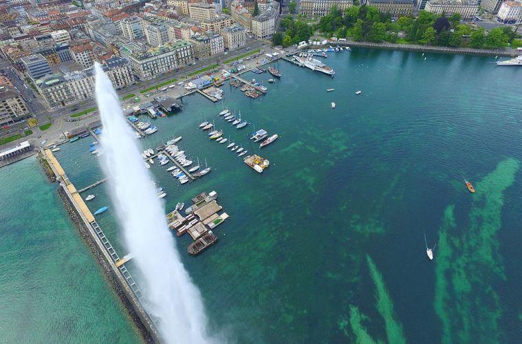 Зачем Женеве фонтан в виде струи? – Информация о фонтане Же-До