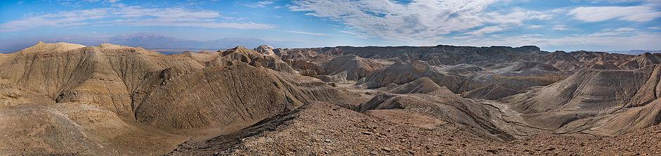 Путешествие по пустыням Израиля: лунный пейзаж