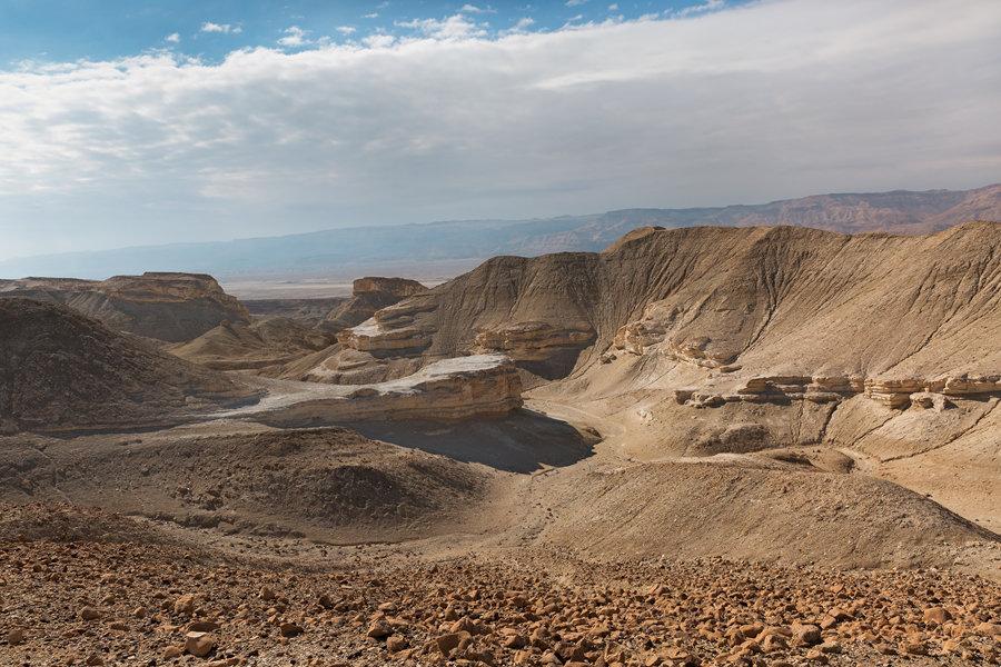 Путешествие по пустыням Израиля: пейзаж