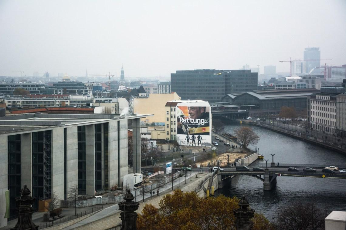 Панорама с купола Рейхстага
