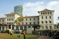 Colombo's elegant Colonial Galle Face Hotel in Sri Lanka