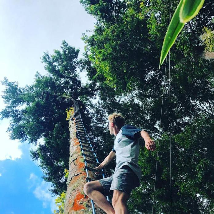 It doesn't get more exciting than a couple of hours spent at the Bali Treetop Adventure Park in Bedugul. Image: www.facebook.com/balitreetop