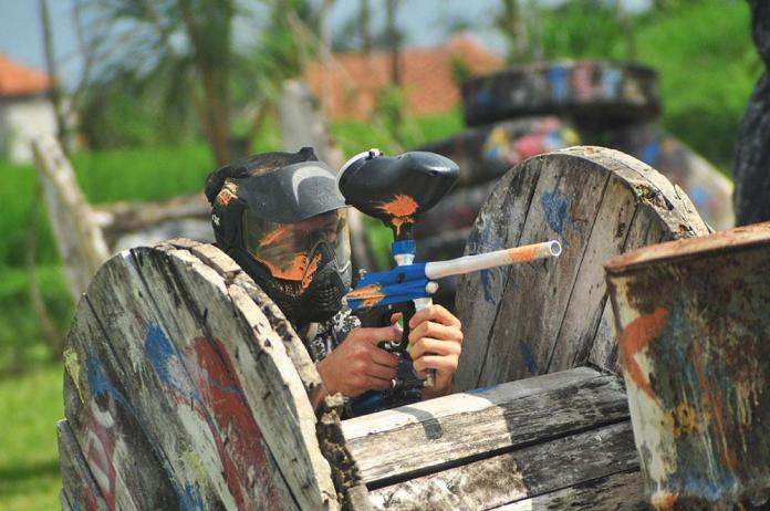 Why not visit the recently-renovated Bali Paintball Arena to galvanize sibling rivalry in a positive way? Image: TripAdvisor