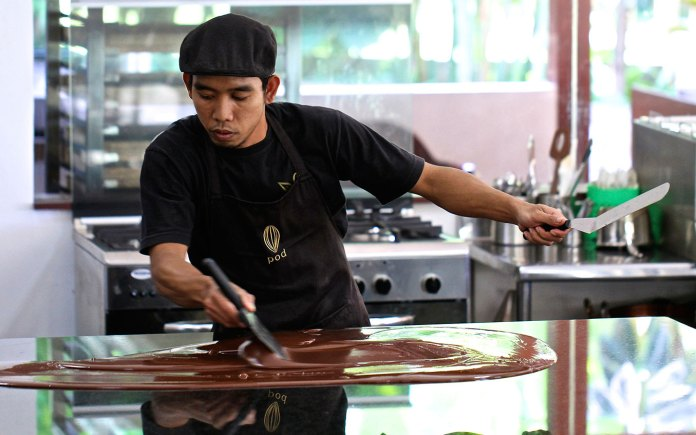 A trip to one of Bali's chocolate factories is a must. Image: www.podbali.com