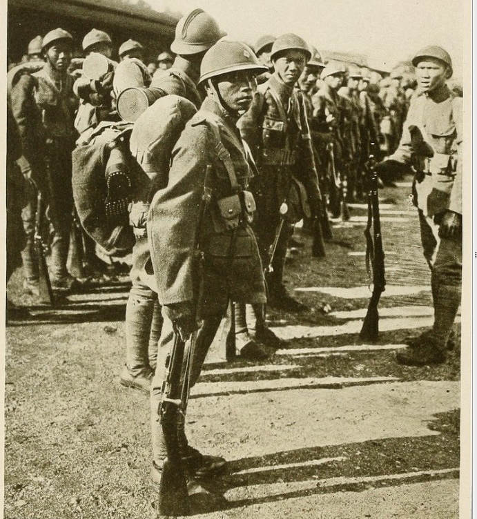 Thai WW1 soldiers