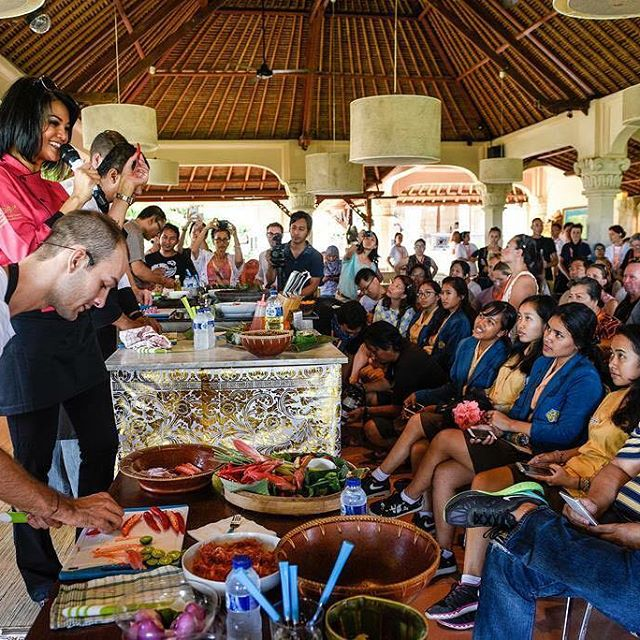 Ubud Food Festival is one of Bali's most enticing sensory experiences. Image: www.ubudfoodfestival.com