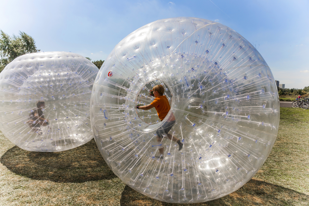 Zorbing Ball, Chiang Mai, Family and Kids Fun Chiang Mai