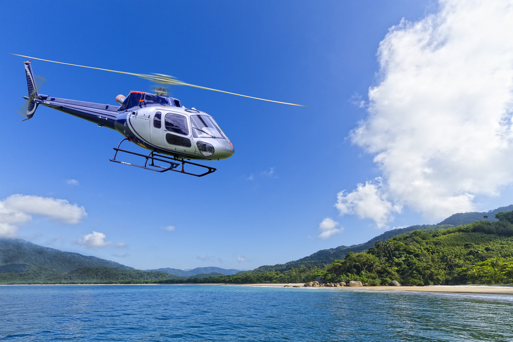 Helicopter tour bali