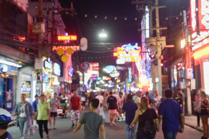Celebrate the New Year's Eve on vibrant walking steerts of Thailand!