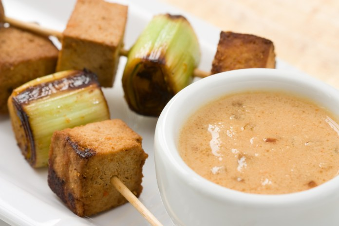 Barbecued fish, meat or tofu makes sate one of the most mouth-watering dishes in Bali.