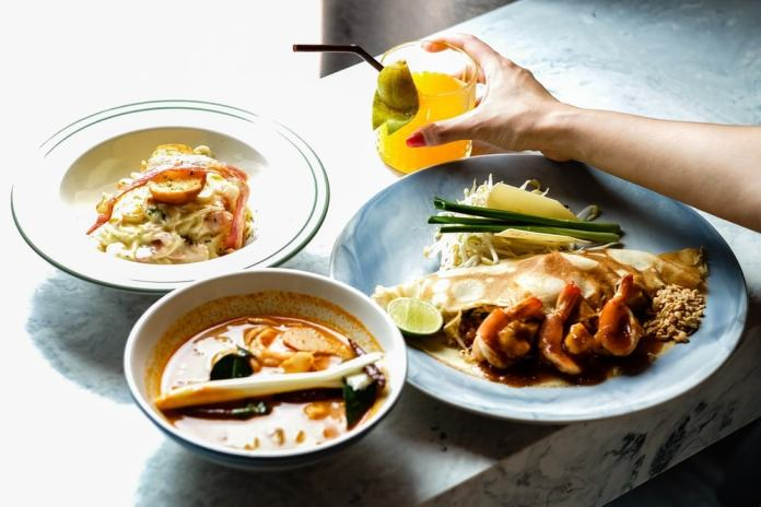 Isn't indulging on delicious food a great way to improve your health in Thailand?