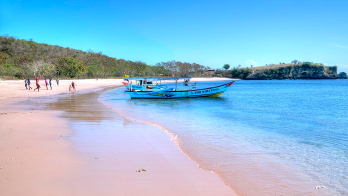 Could this be the most beautiful beach on Lombok?