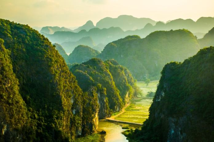 Ninh Binh is one of Vietnam's most beautiful spots.