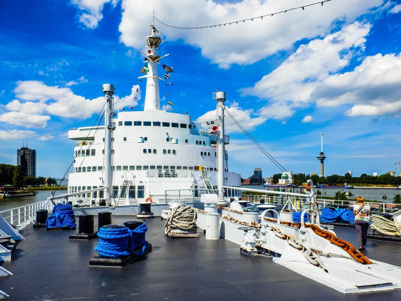 SS Rotterdam hotel spend a night on cruise ship