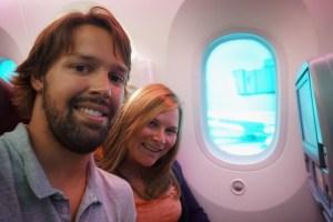 787 Dreamliner Large Window