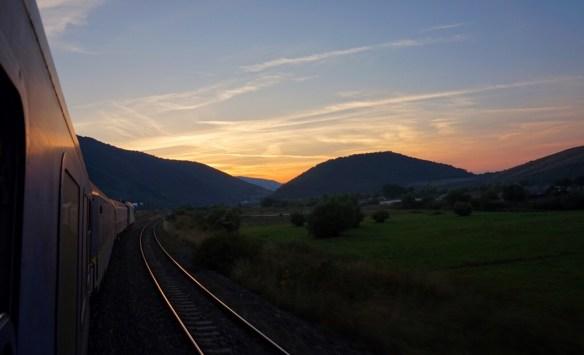Traveling Around the World, Eurail Global Pass Romania Night Train