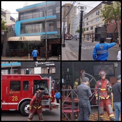 Hostel Fire Lima Peru