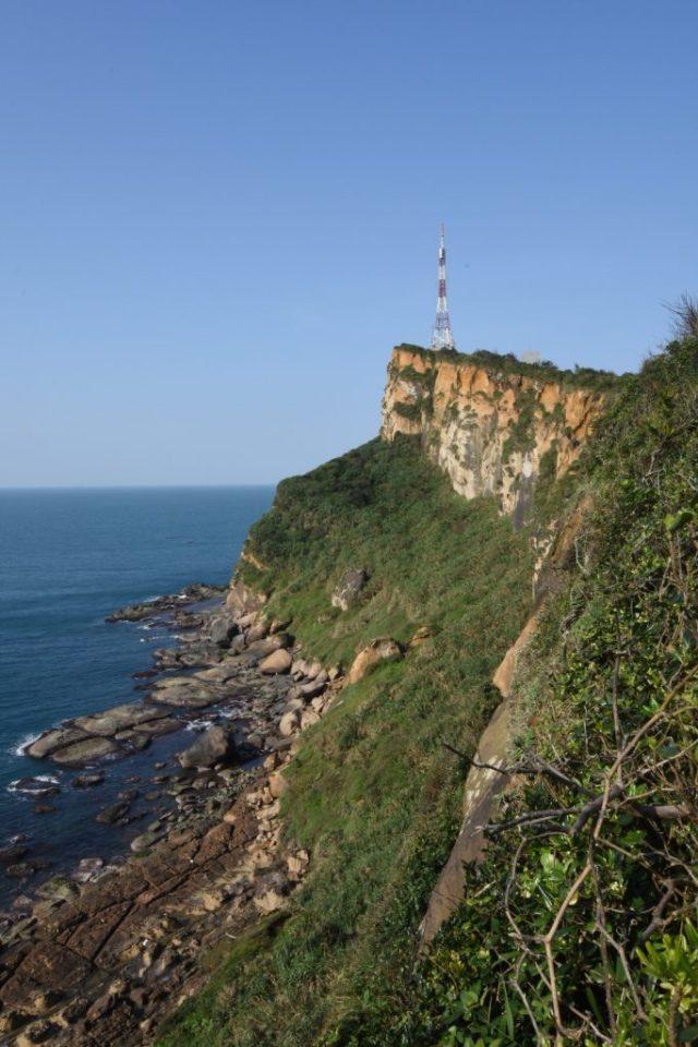 Ein traumhafter Ausblick auf die Küste von Yehliu