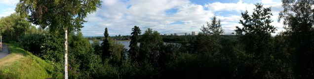 Anchorage from my morning run