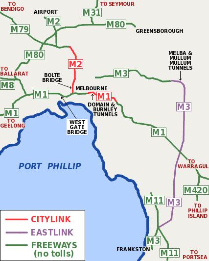 freeway-map