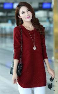 Red Woolen Top 1
