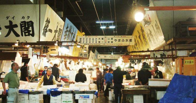 Visiting Tsukiji Fish Market   Ginza, Tokyo