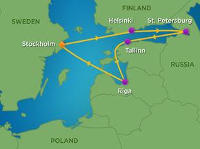 Baltic Geocaching Adventure Summer Geocaching Adventures - Baltic cruise