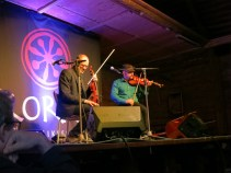 Pelle Björnlerg & Anders Löfberg, at Anders's CD release